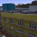 Budowa Pawilonu -Oddział Patologii Ciąży  12.2015 1