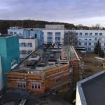 Budowa Pawilonu -Oddział Patologii Ciąży  12.2015 2